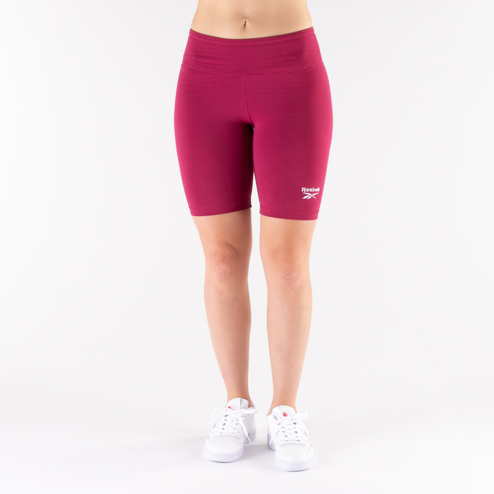 Womens Reebok Identity Fitted Shorts - Punch Berry
