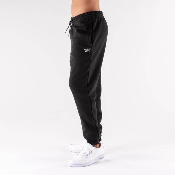 Main view of Mens Reebok Identity Fleece Pants - Black