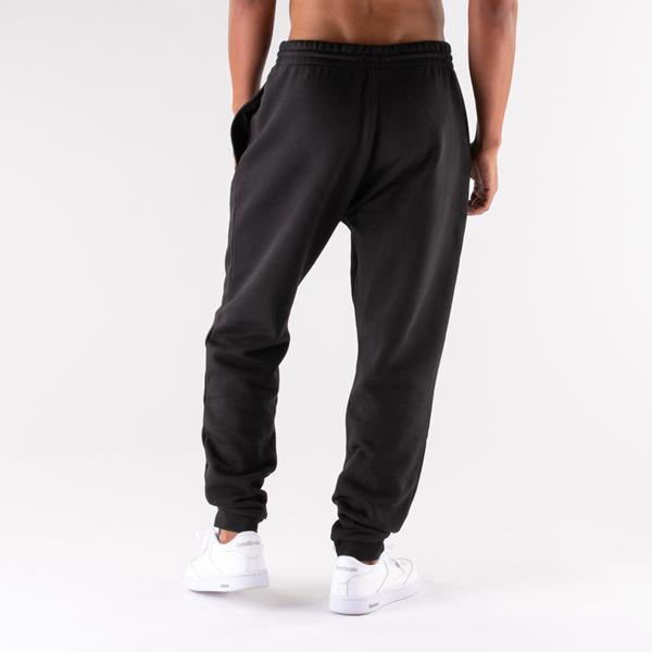 alternate view Mens Reebok Identity Fleece Pants - BlackALT1