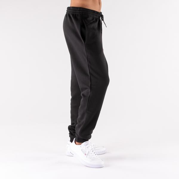 alternate view Mens Reebok Identity Fleece Pants - BlackALT3