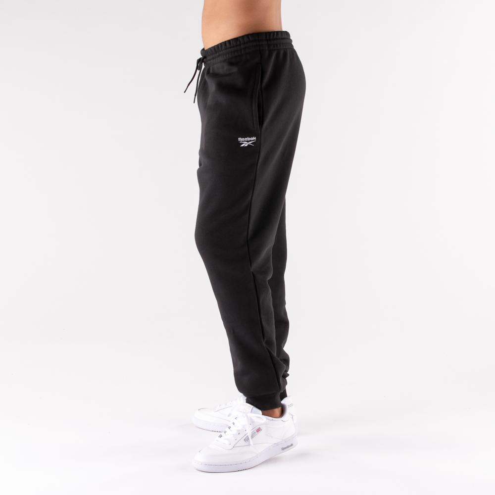 Mens Reebok Identity Fleece Pants - Black