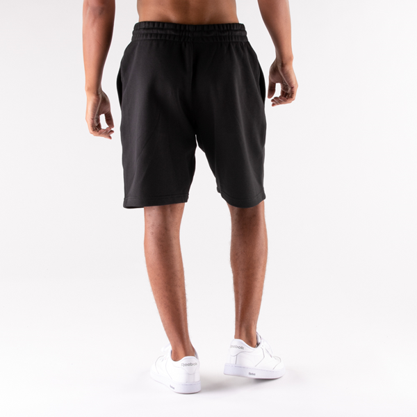 alternate view Mens Reebok Identity Fleece Shorts - BlackALT2