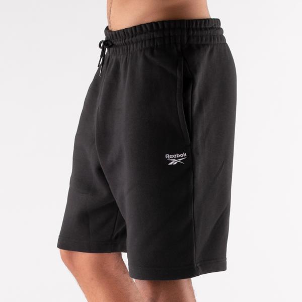 alternate view Mens Reebok Identity Fleece Shorts - BlackALT5