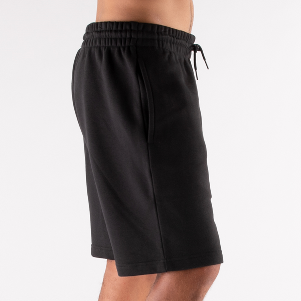 alternate view Mens Reebok Identity Fleece Shorts - BlackALT5C