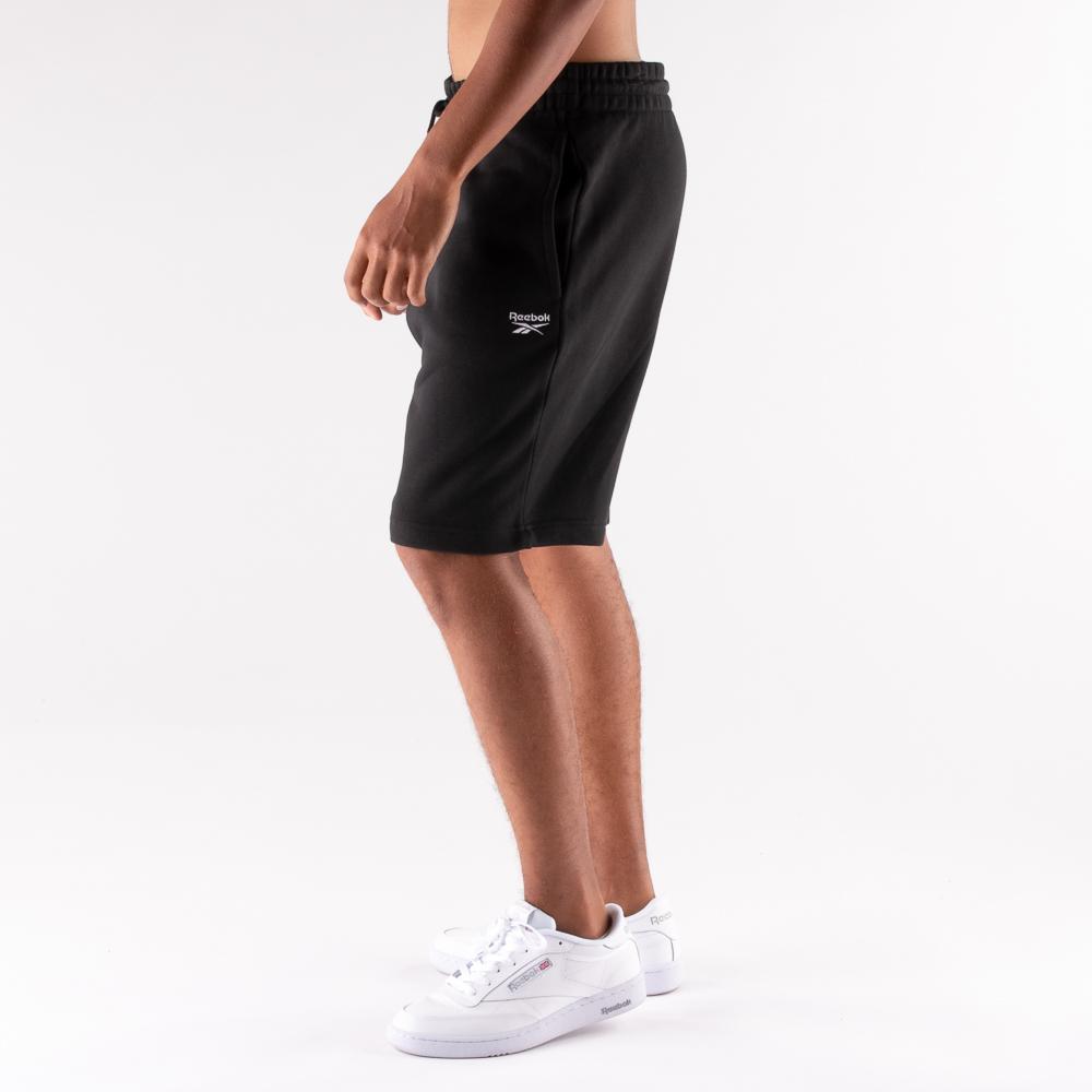 Mens Reebok Identity Fleece Shorts - Black