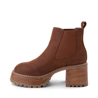 Alternate view of Womens MIA Alejandro Platform Chelsea Boot - Cognac