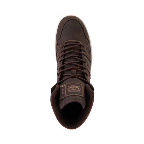 alternate view Mens Levi's 520 BB Hi Casual Shoe - BrownALT2