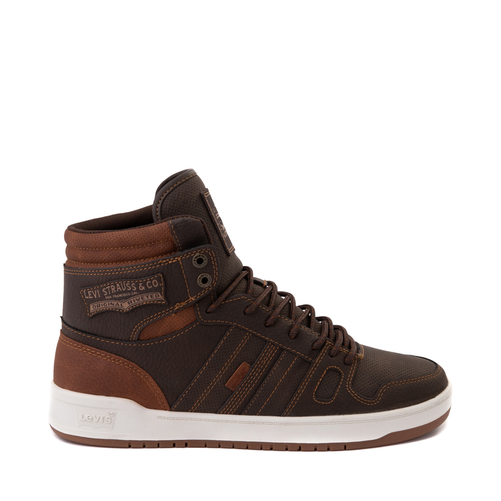 Mens Levi's 520 BB Hi Casual Shoe - Brown