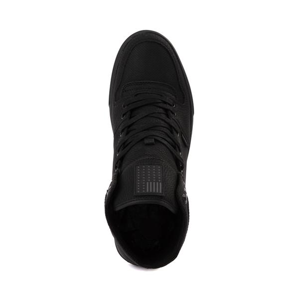 alternate view Mens Levi's 501® Mason Hi Casual Shoe - Black MonochromeALT2