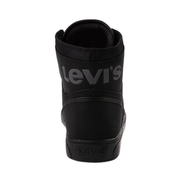 alternate view Mens Levi's 501® Mason Hi Casual Shoe - Black MonochromeALT4