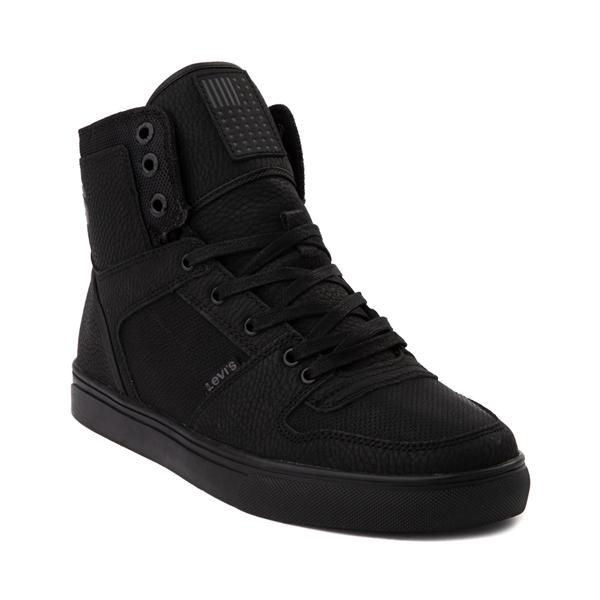 alternate view Mens Levi's 501® Mason Hi Casual Shoe - Black MonochromeALT5