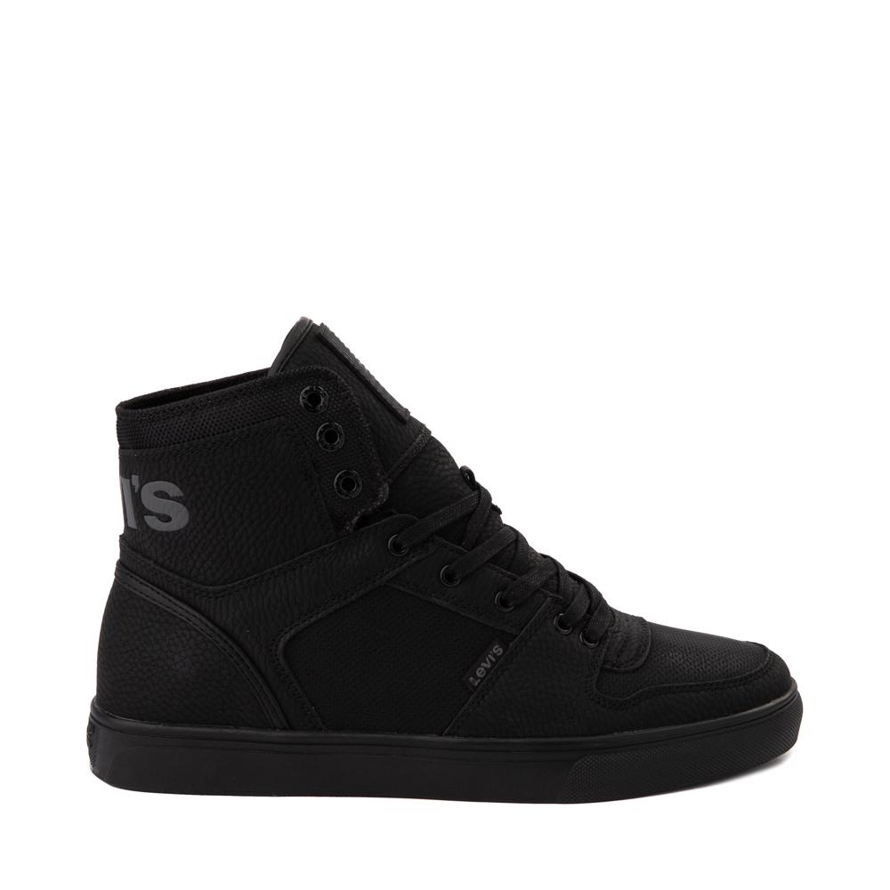 Mens Levi's 501® Mason Hi Casual Shoe - Black Monochrome