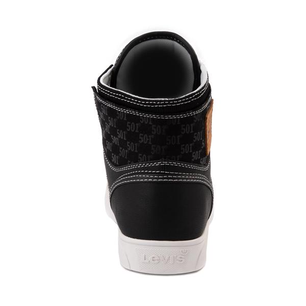 alternate view Mens Levi's 501 Mason Hi Casual Shoe - BlackALT4