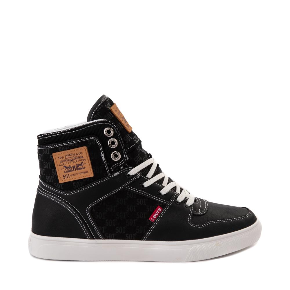 Mens Levi's 501 Mason Hi Casual Shoe - Black