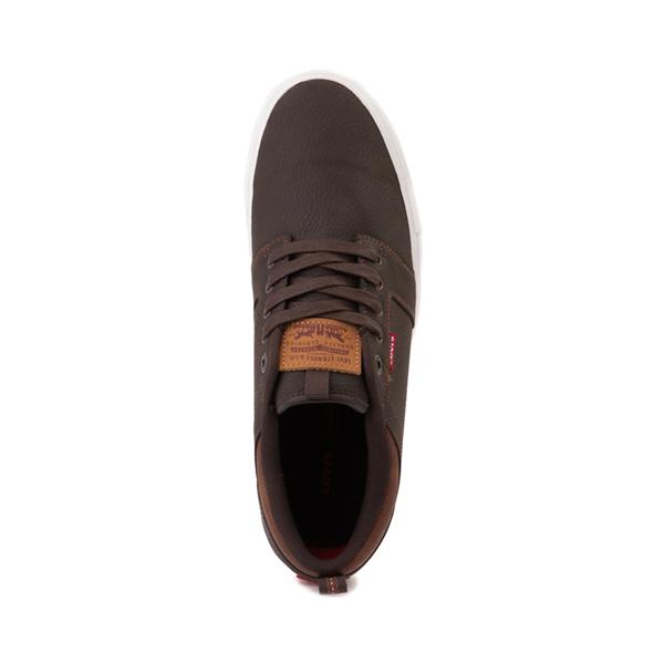 alternate view Mens Levi's Alpine Casual Shoe - BrownALT2