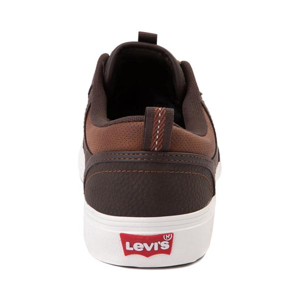 alternate view Mens Levi's Alpine Casual Shoe - BrownALT4