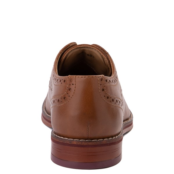 alternate view Johnston and Murphy Conrad Casual Shoe - Little Kid / Big Kid - BrownALT4