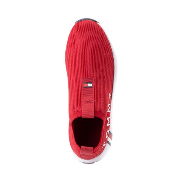 alternate view Womens Tommy Hilfiger Aliah Slip On Athletic Shoe - RedALT2