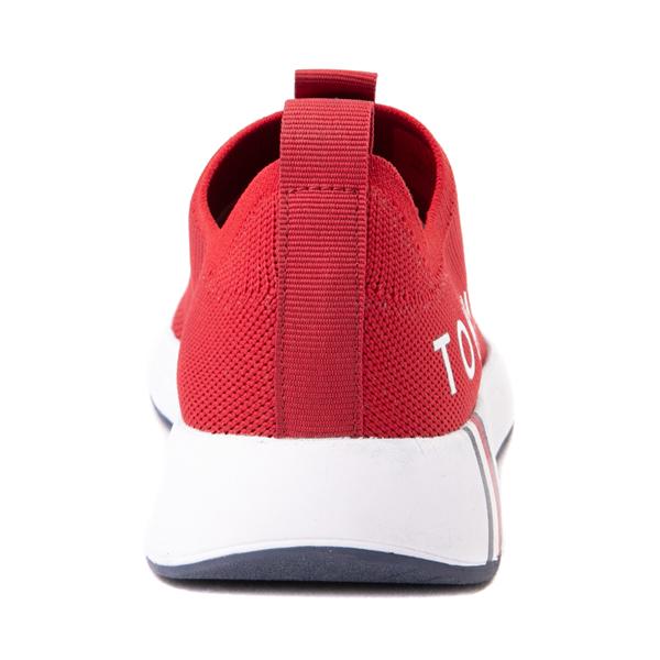 alternate view Womens Tommy Hilfiger Aliah Slip On Athletic Shoe - RedALT4