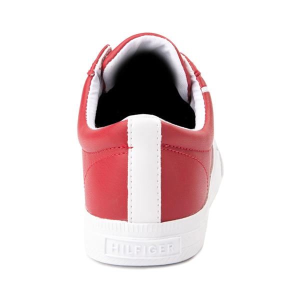 alternate view Womens Tommy Hilfiger Luhn Casual Shoe - RedALT4