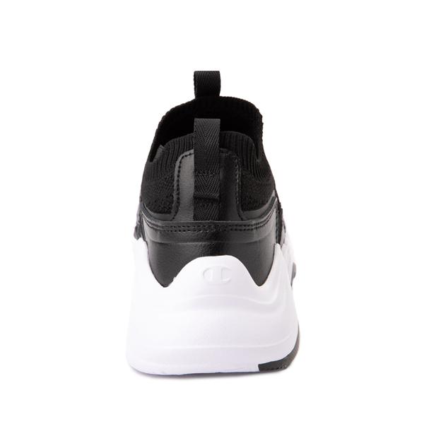 alternate view Champion Hyper C Speed Athletic Shoe - Little Kid - Black / WhiteALT4