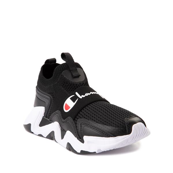 alternate view Champion Hyper C Speed Athletic Shoe - Little Kid - Black / WhiteALT5