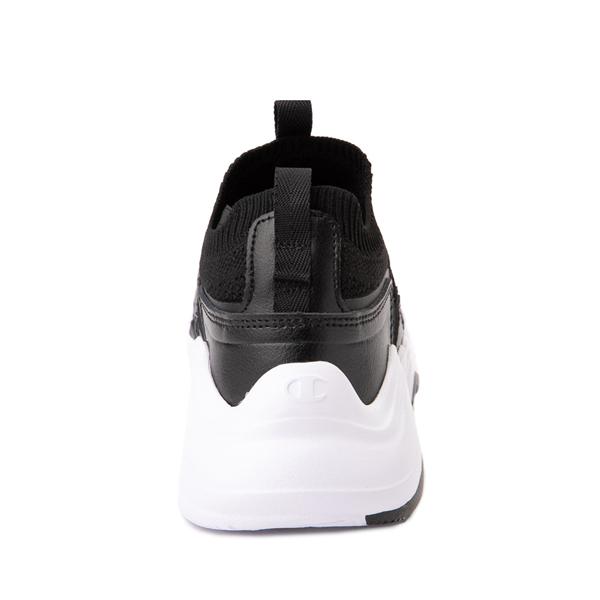 alternate view Champion Hyper C Speed Athletic Shoe - Big Kid - Black / WhiteALT4