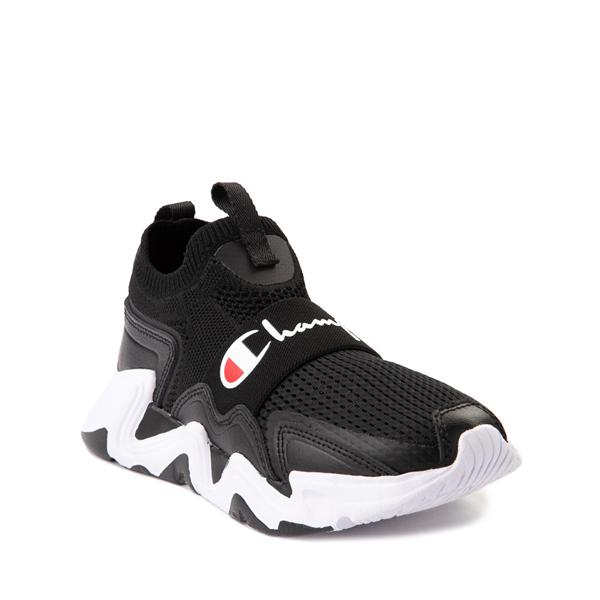 alternate view Champion Hyper C Speed Athletic Shoe - Big Kid - Black / WhiteALT5