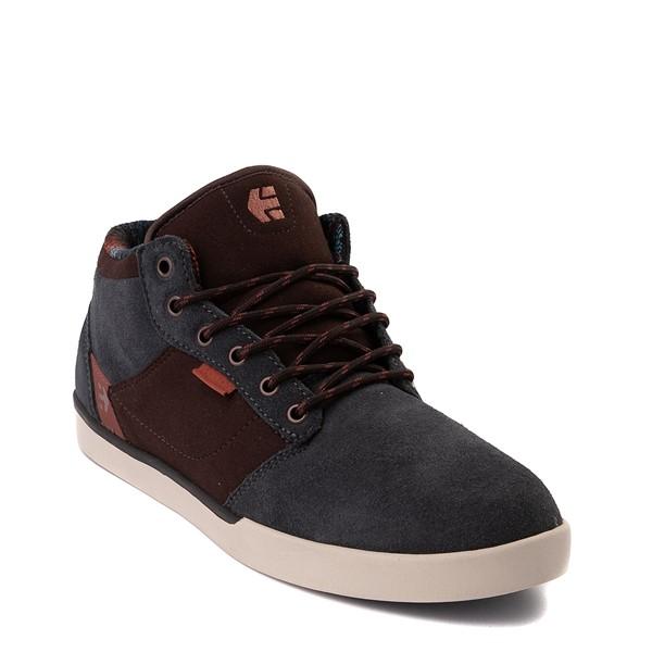 alternate view Mens etnies Jefferson Mid Skate Shoe - GrayALT5