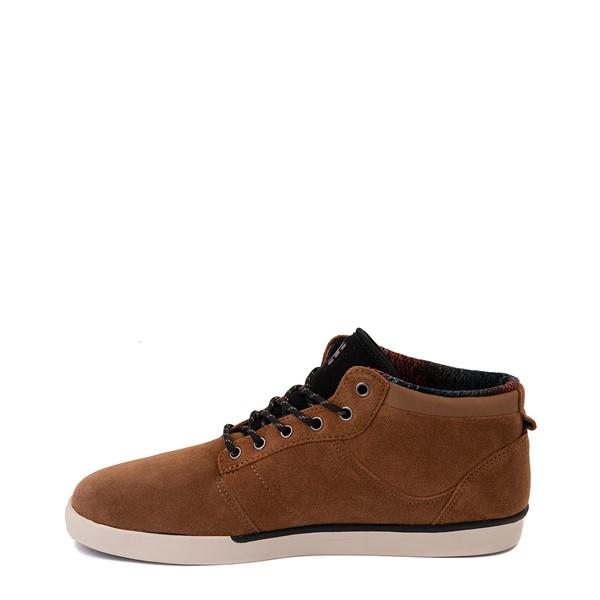 alternate view Mens etnies Jefferson Mid Skate Shoe - BrownALT1
