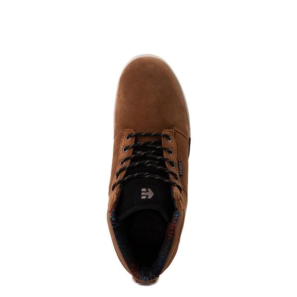 alternate view Mens etnies Jefferson Mid Skate Shoe - BrownALT2