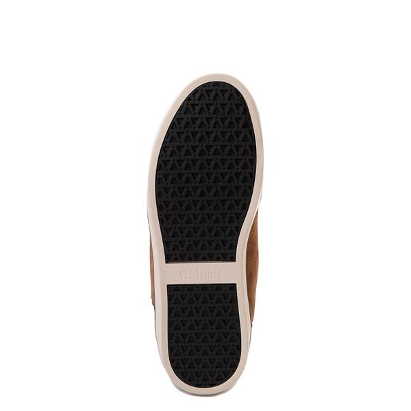 alternate view Mens etnies Jefferson Mid Skate Shoe - BrownALT3