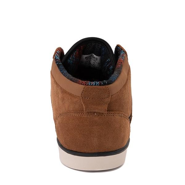 alternate view Mens etnies Jefferson Mid Skate Shoe - BrownALT4