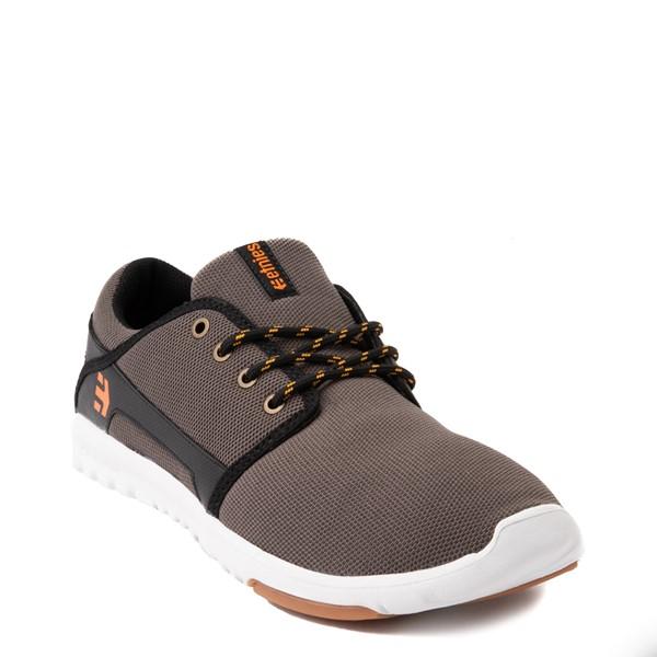 alternate view Mens etnies Scout Skate Shoe - Dark GrayALT5