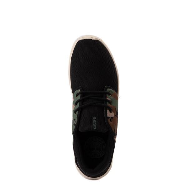 alternate view Mens etnies Scout Skate Shoe - Black / CamoALT2