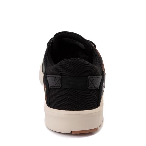 alternate view Mens etnies Scout Skate Shoe - Black / CamoALT4
