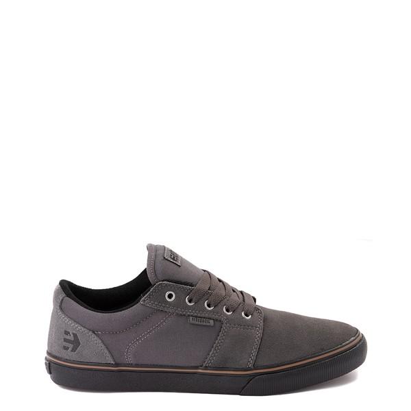 Main view of Mens etnies Barge LS Skate Shoe - Dark Gray