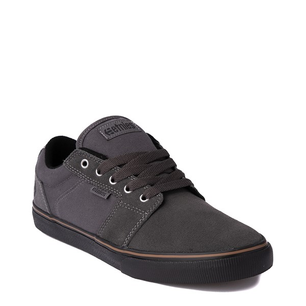 alternate view Mens etnies Barge LS Skate Shoe - Dark GrayALT5