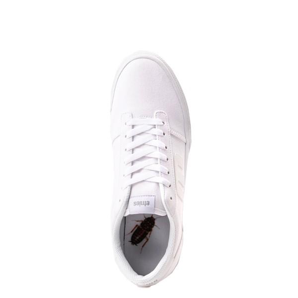 alternate view Mens etnies Calli Vulc Skate Shoe - WhiteALT2