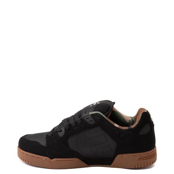 alternate view Mens etnies Faze Skate Shoe - Black / CamoALT1