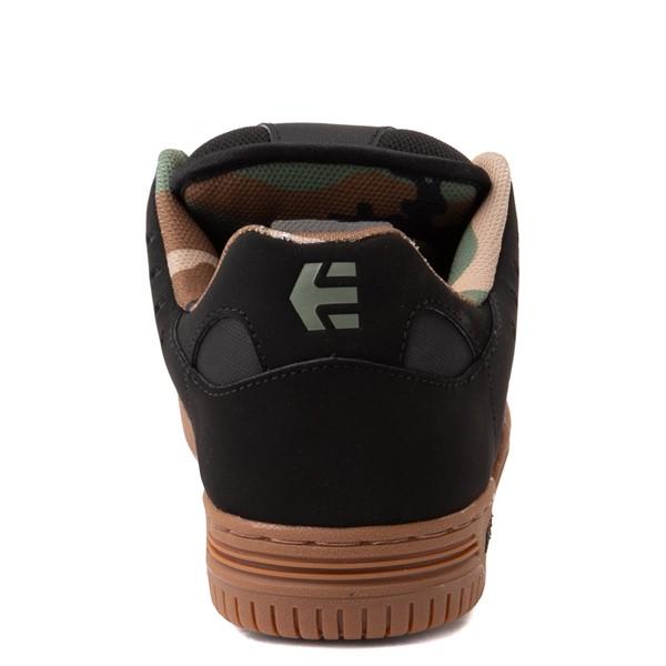 alternate view Mens etnies Faze Skate Shoe - Black / CamoALT4