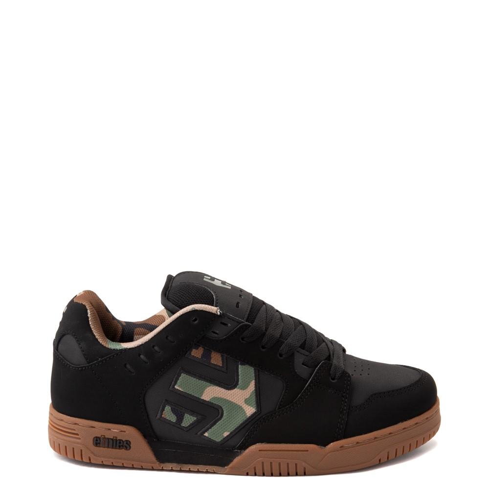 Mens etnies Faze Skate Shoe - Black / Camo