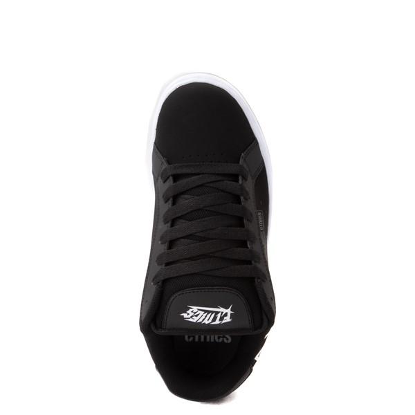 alternate view Mens etnies Fader Skate Shoe - Black / SkullsALT2