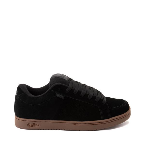 Main view of Mens etnies Kingpin Skate Shoe - Gray / Gum