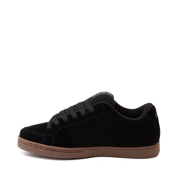 alternate view Mens etnies Kingpin Skate Shoe - Gray / GumALT1
