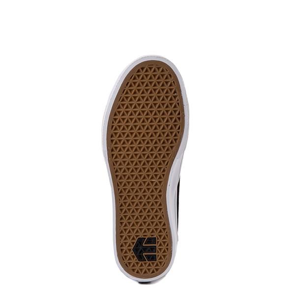 alternate view Womens etnies Marana Slip On Skate Shoe - Black / LeopardALT3