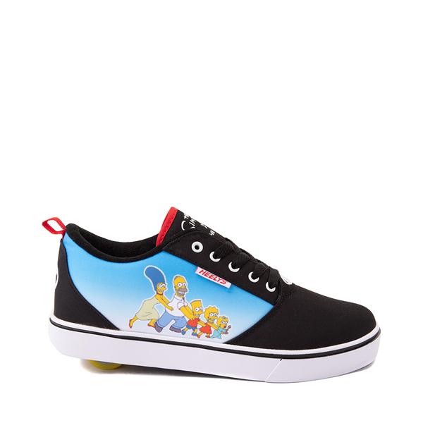 Main view of Mens Heelys x The Simpsons Pro 20 Skate Shoe - Black
