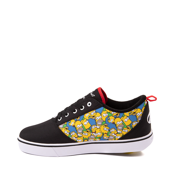 alternate view Mens Heelys x The Simpsons Pro 20 Skate Shoe - BlackALT1