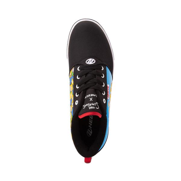 alternate view Mens Heelys x The Simpsons Pro 20 Skate Shoe - BlackALT2