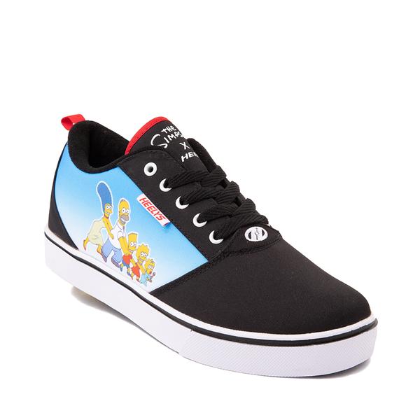 alternate view Mens Heelys x The Simpsons Pro 20 Skate Shoe - BlackALT5